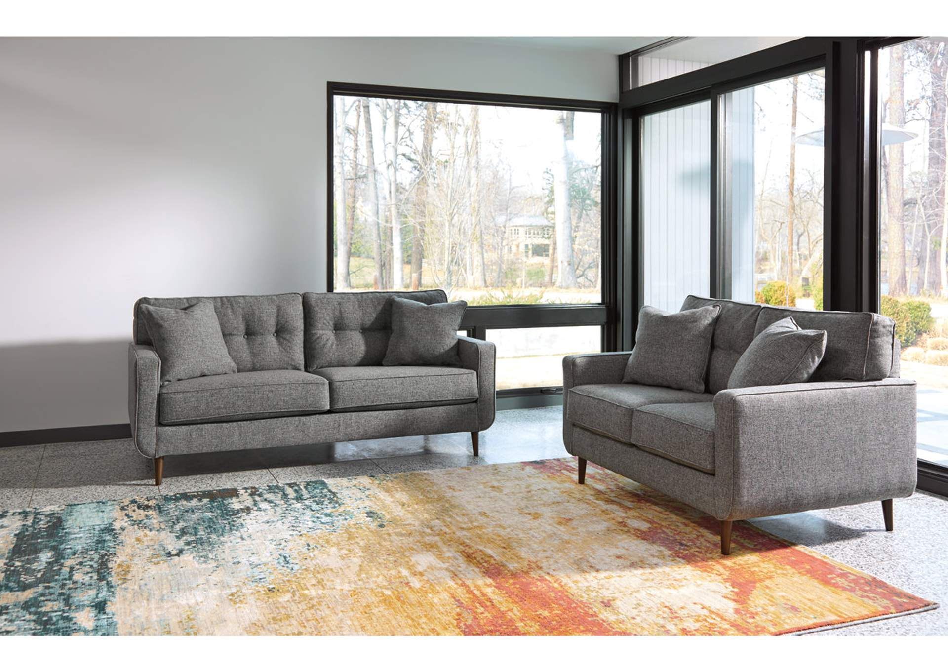 Zardoni Sofa and Loveseat