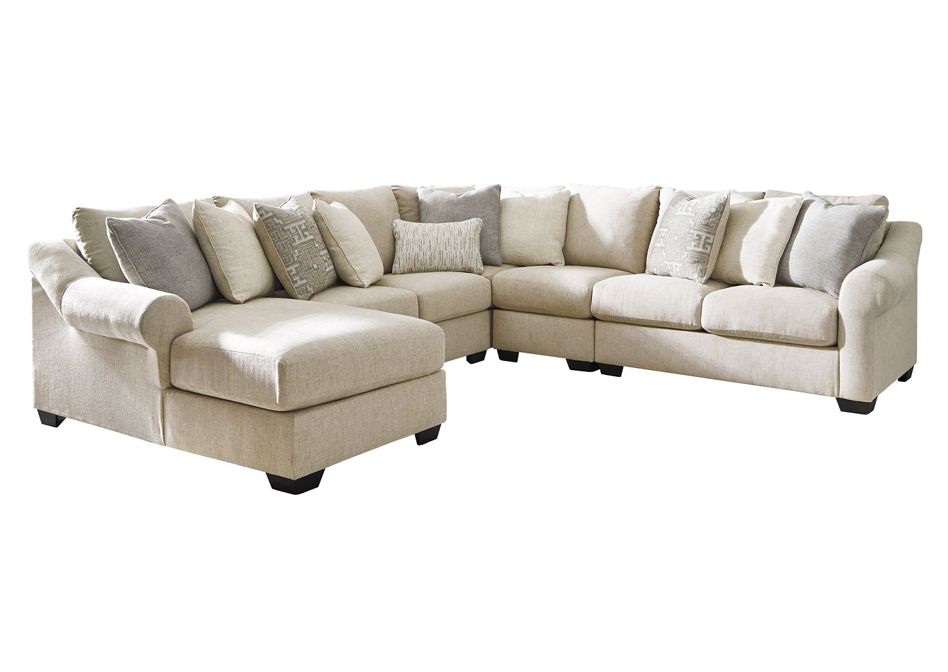 Carnaby 5 Piece Sectional Chaise