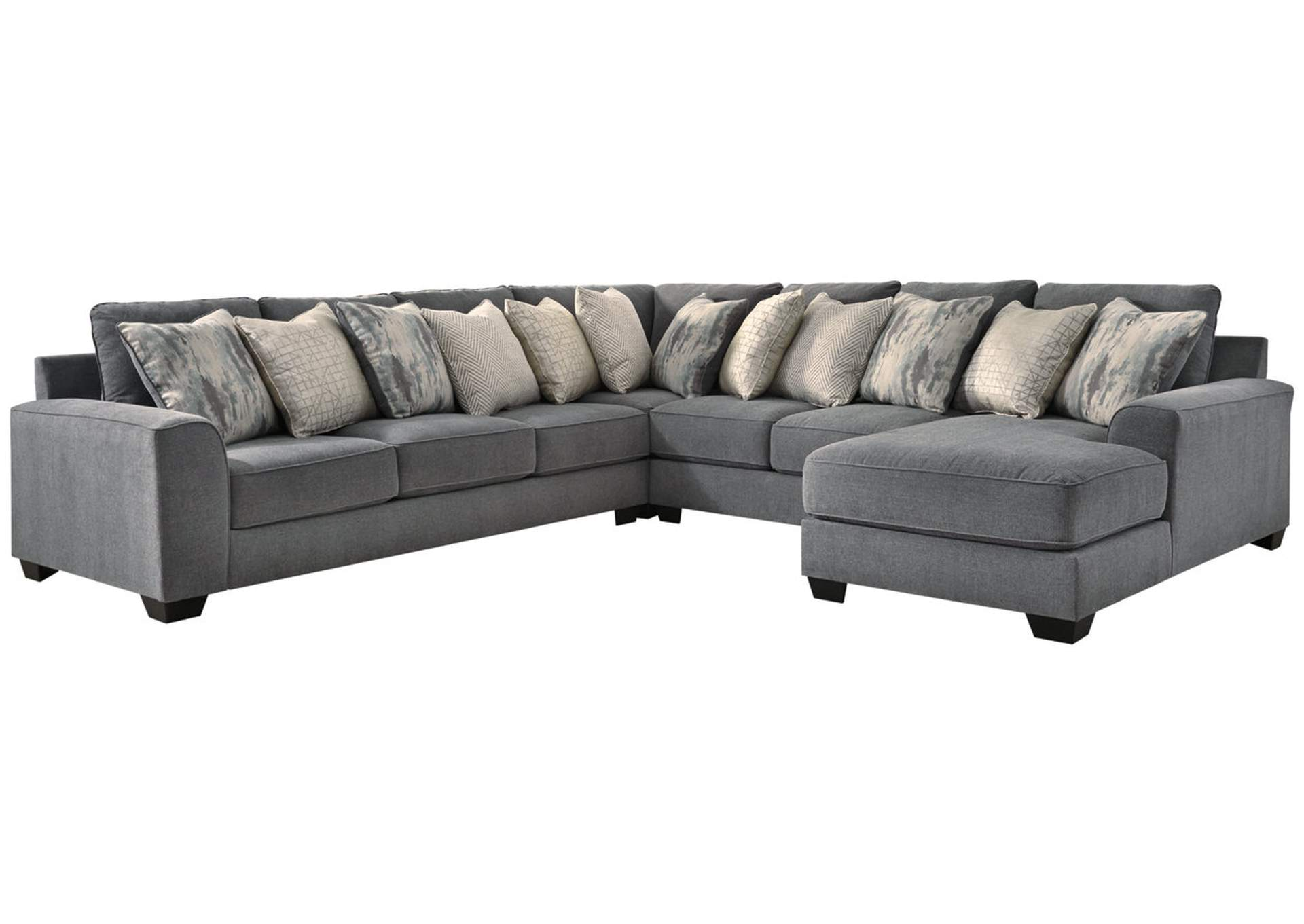 Castano Jewel 4 Piece Chaise Sectional