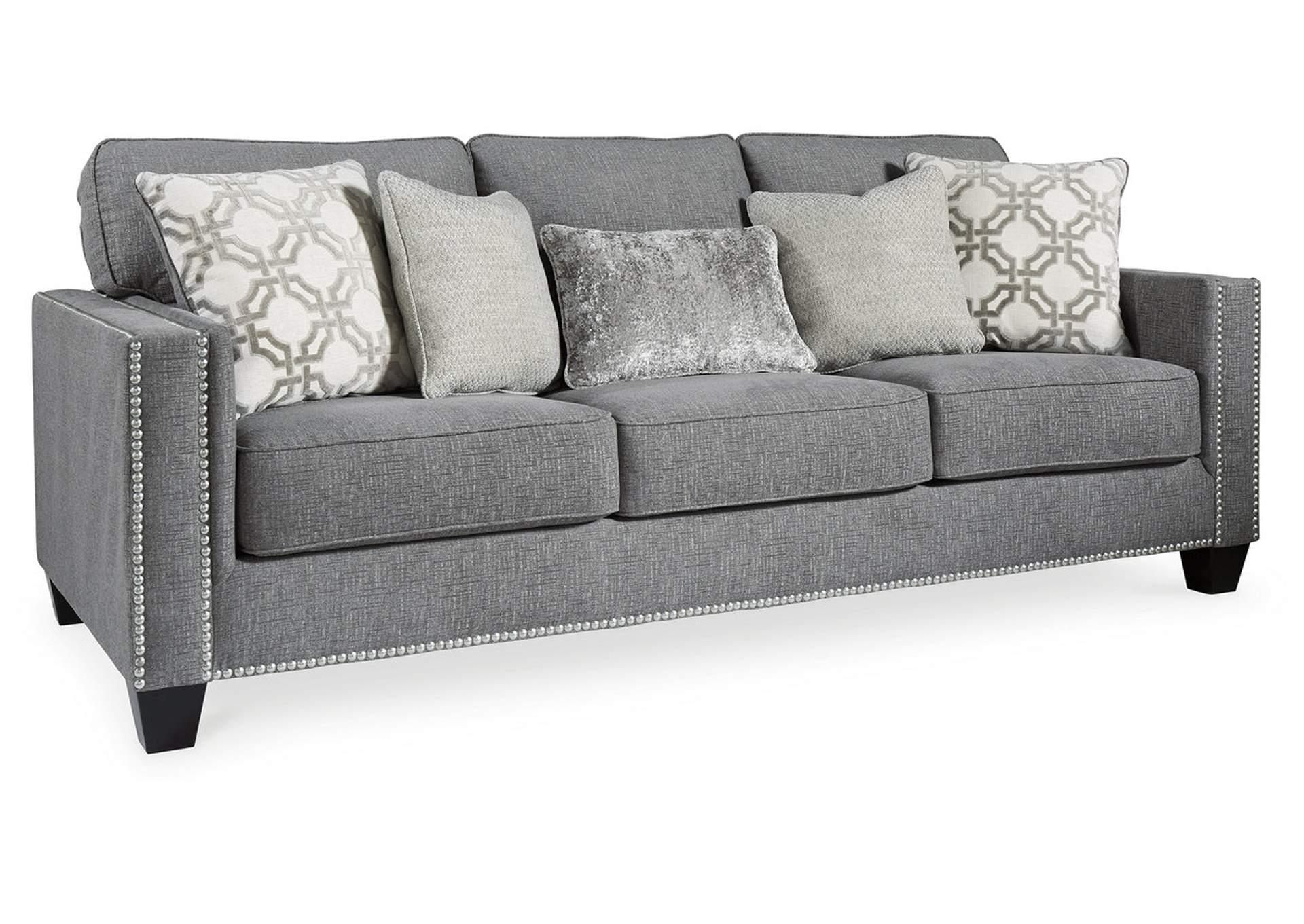 Barrali Chenille Queen Sofa Sleeper