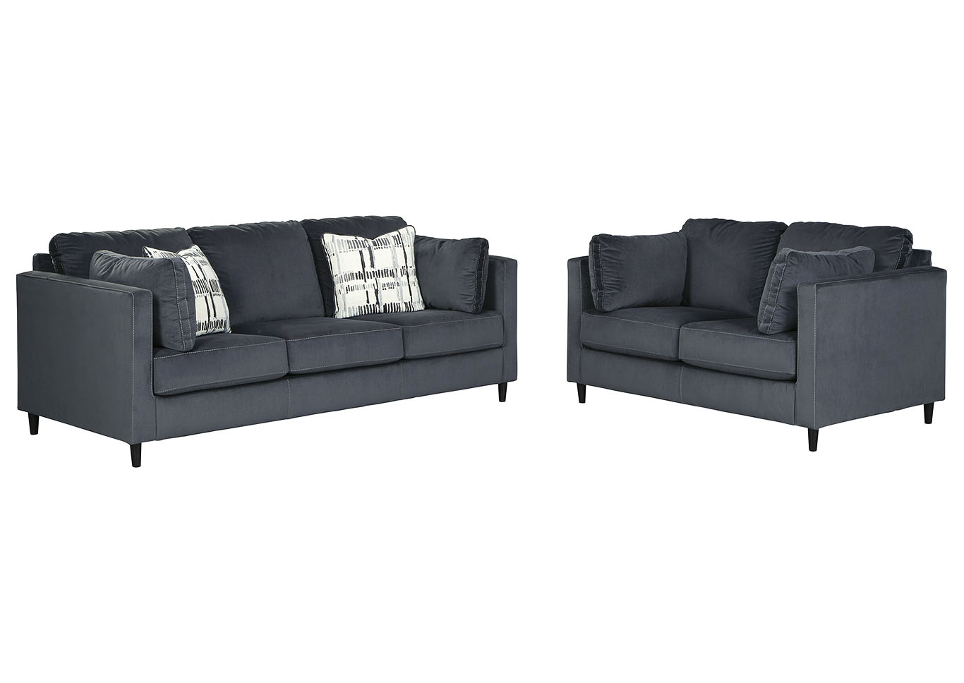 Kennewick Sofa and Loveseat