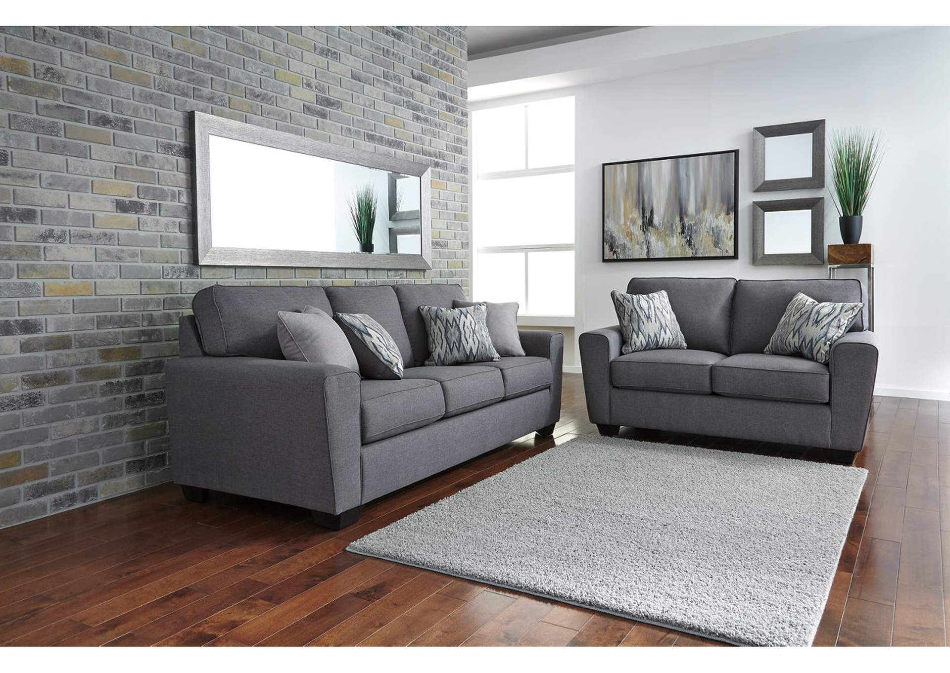 Calion Sofa and Loveseat