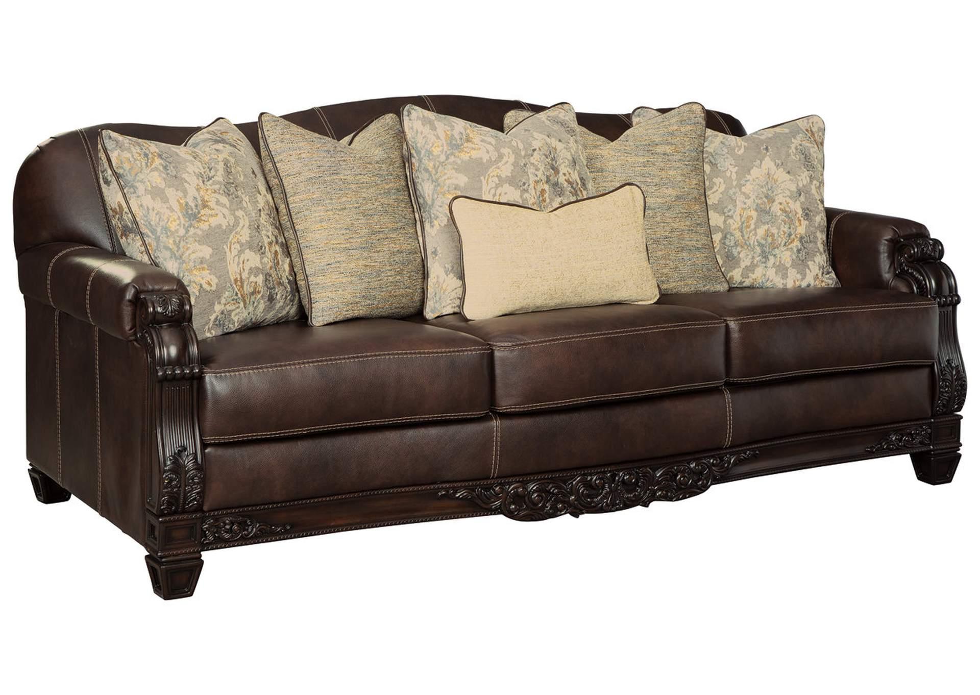 Embrook Chocolate Sofa
