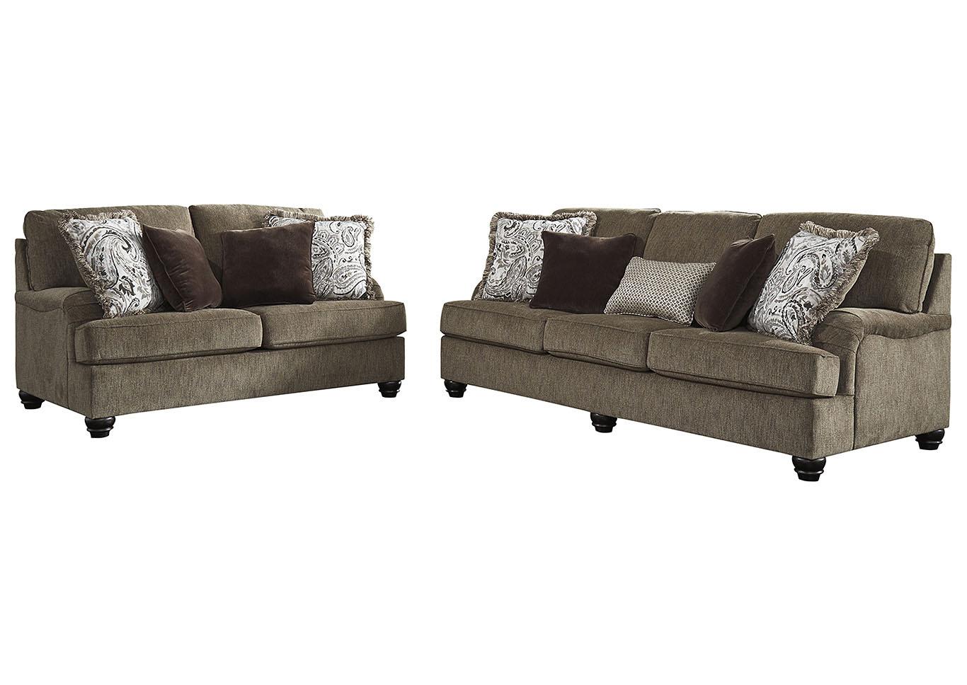 Braemar cama y un sofá doble de la Plaza C/8 almohadas