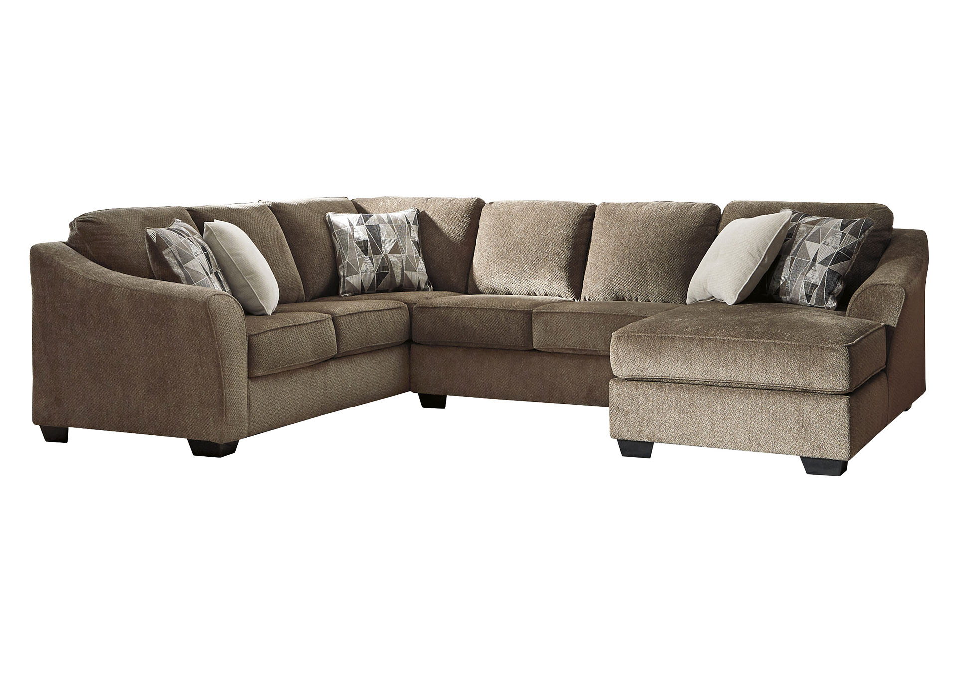 Graftin Teak Chaise Sectional Ashley Furniture Homestore Independently Owned And Operated By Best Furn Appliances I