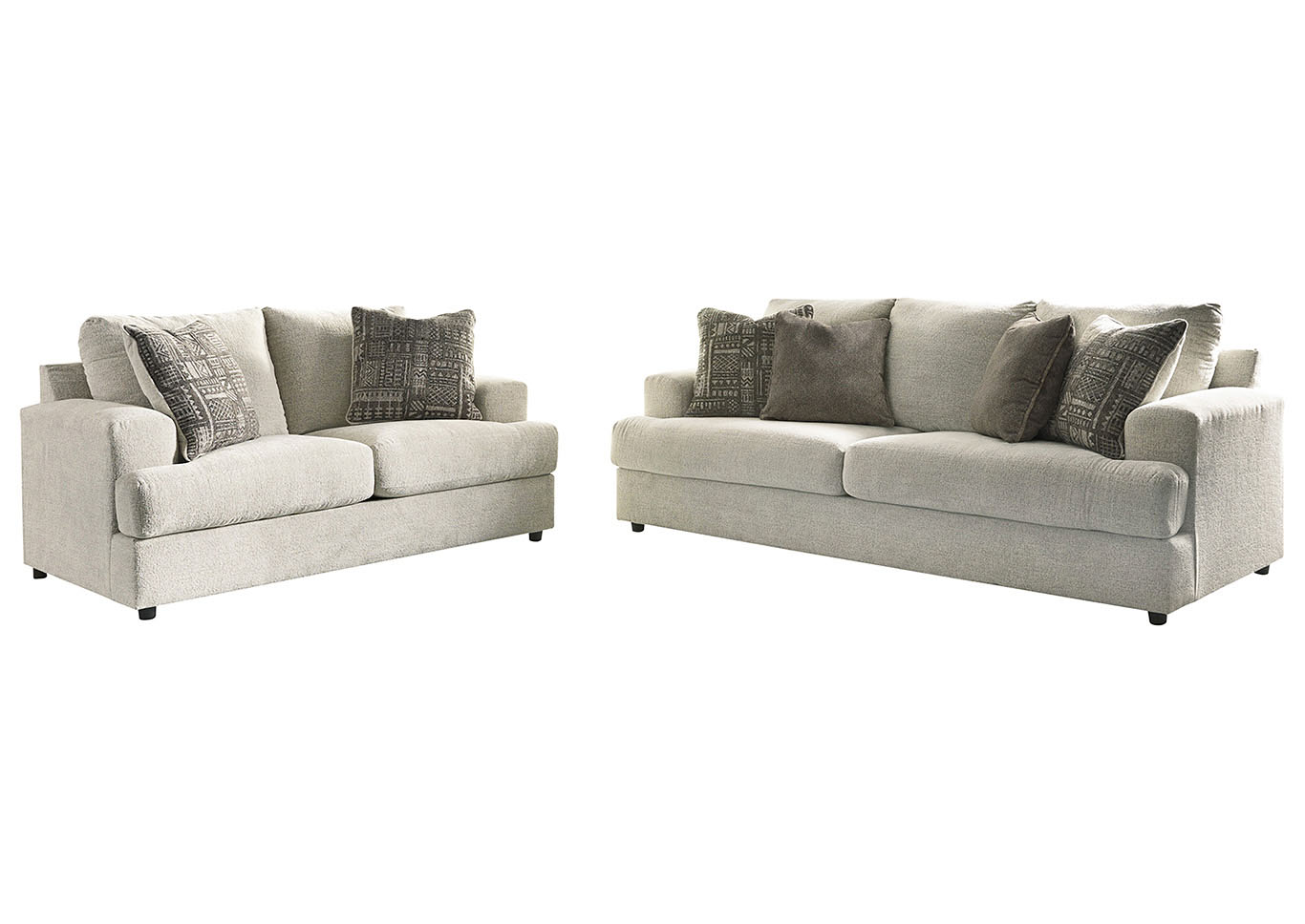 Soletren Sofa and Loveseat