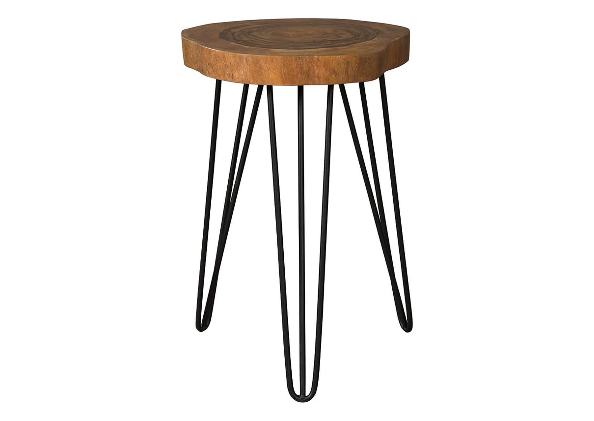 Eversboro Brown/Black Accent Table   PEDIDO ESPECIAL
