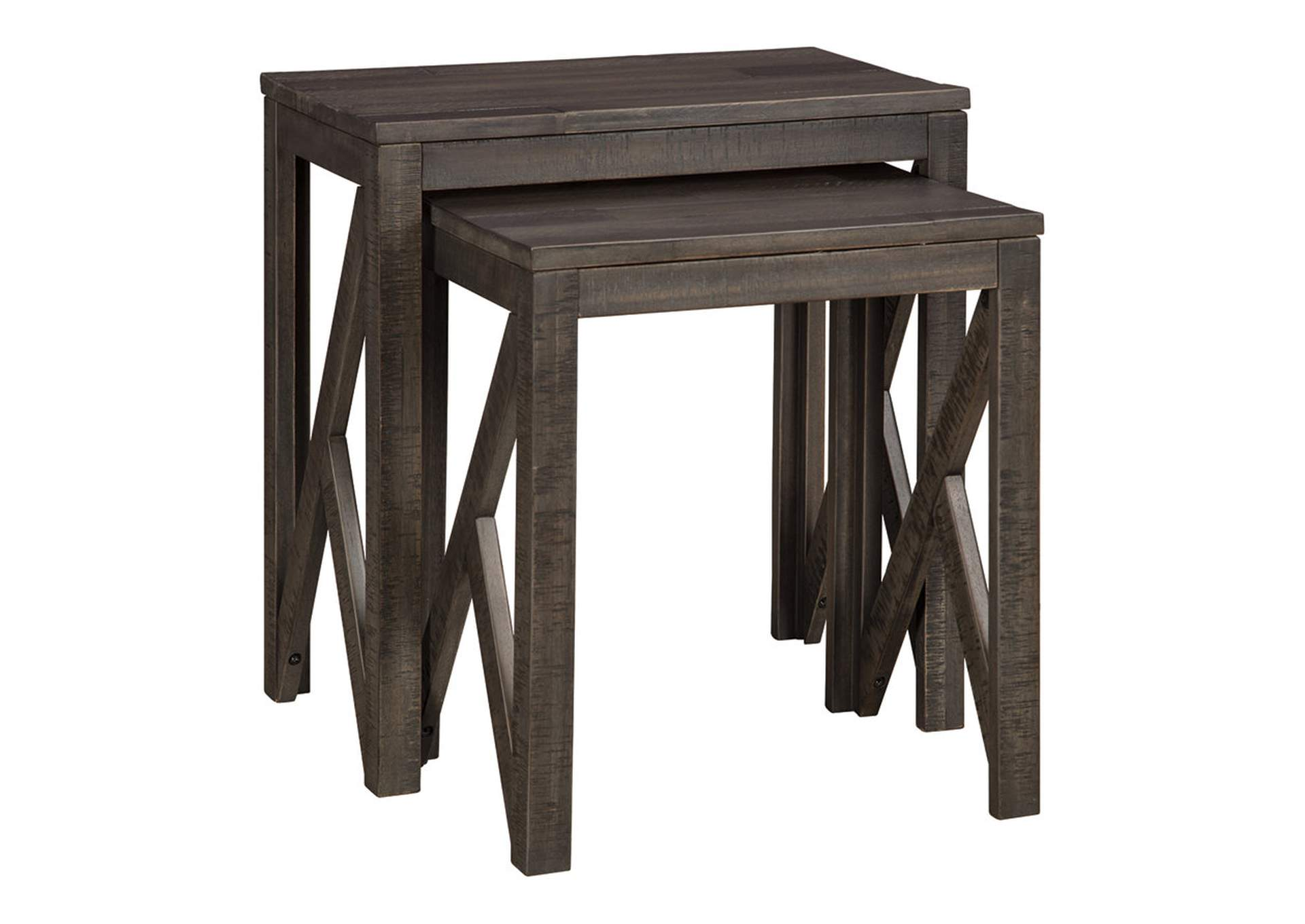 Emerdale Gray Accent Table (Set of 2)