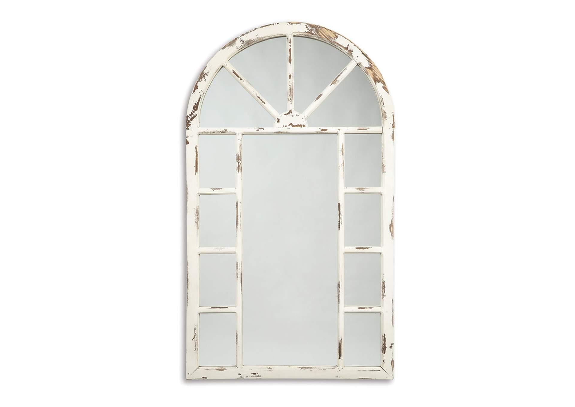 Espejo Divakar color blanco antiguo   PEDIDO ESPECIAL