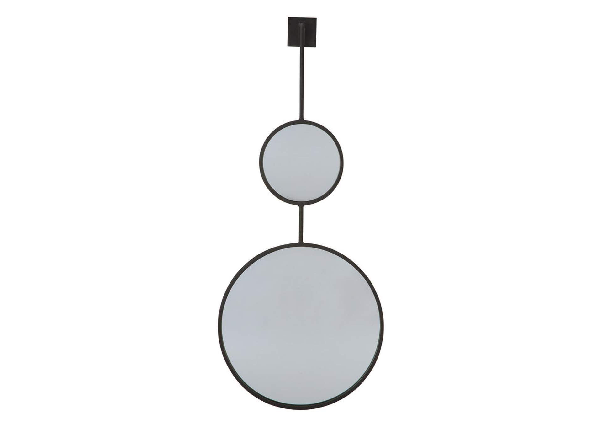 Brewer Стилизованное зеркало черного цвета