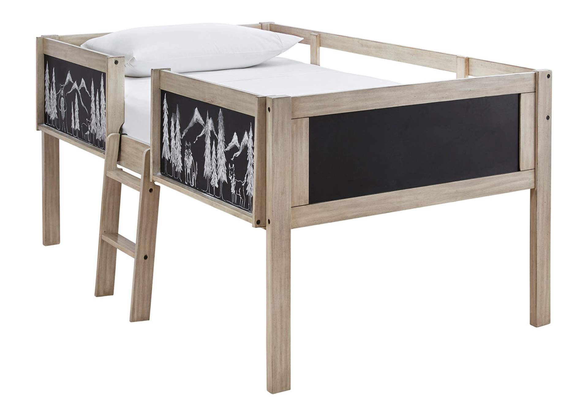 Wrenalyn Twin Loft Bed Frame