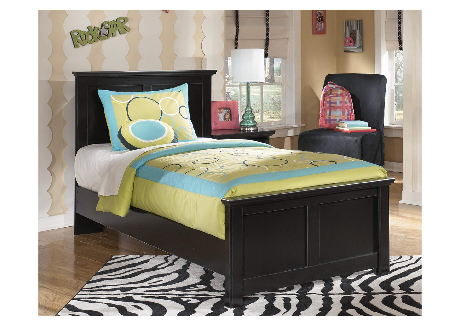 Maribel Twin Panel Bed Frame