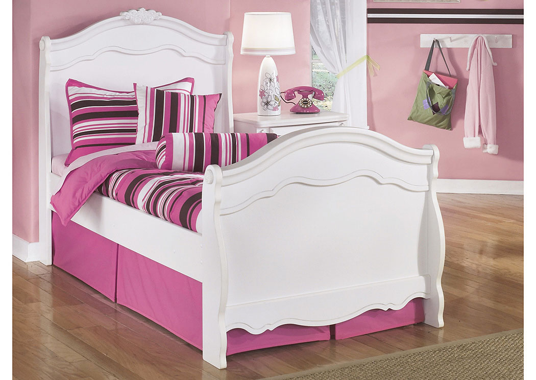Exquisite Twin Sleigh Bed   PEDIDO ESPECIAL