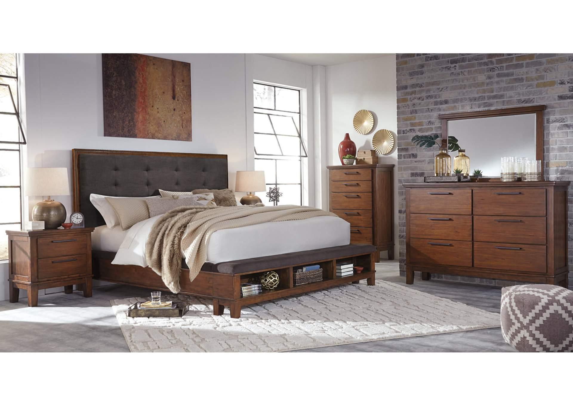 Ralene King Storage Bed