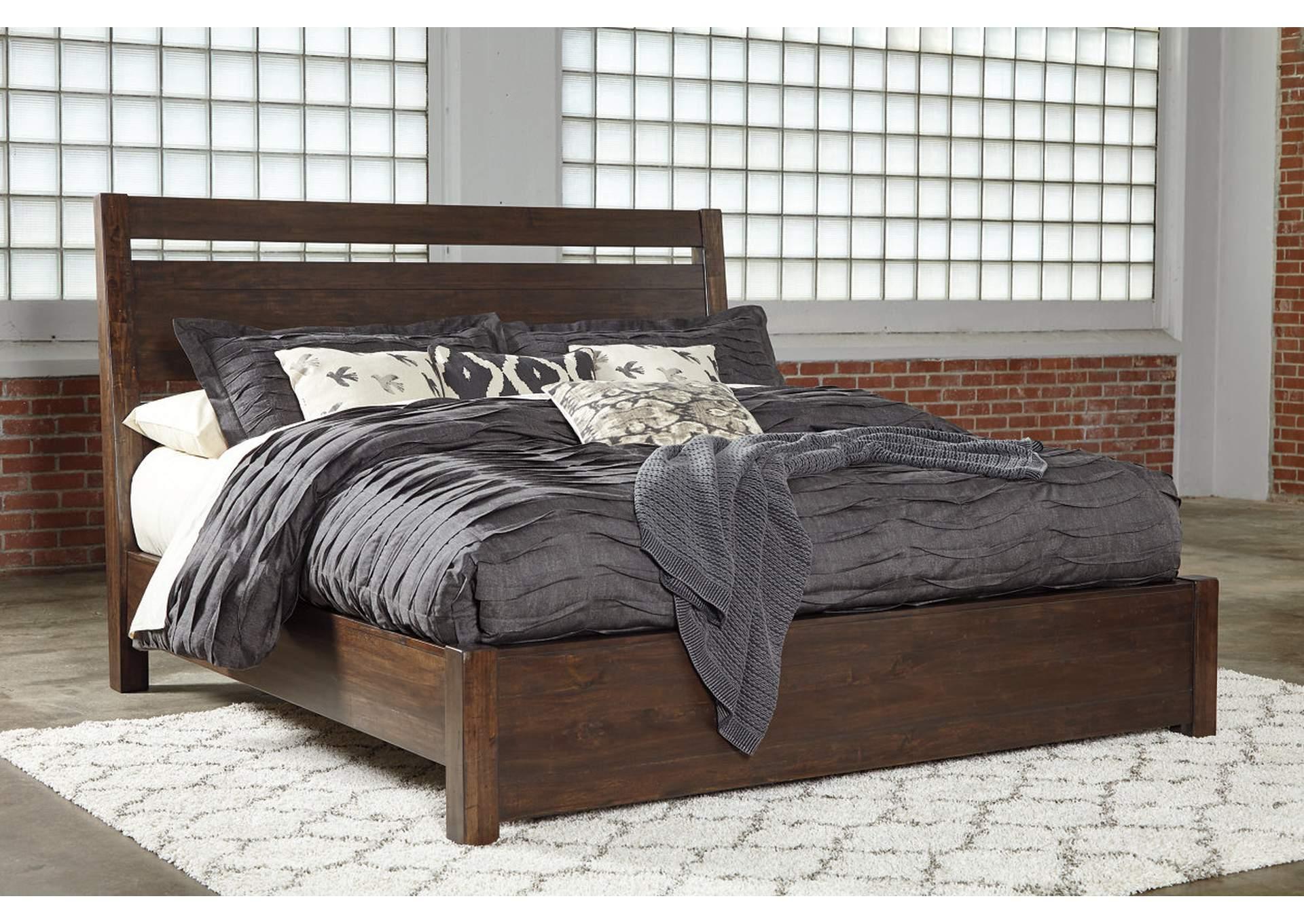 Starmore Queen Platform Panel Bed