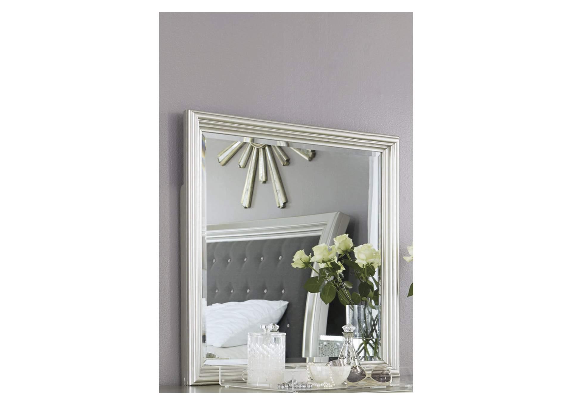 Espejo tocador color plata Coralayne   PEDIDO ESPECIAL