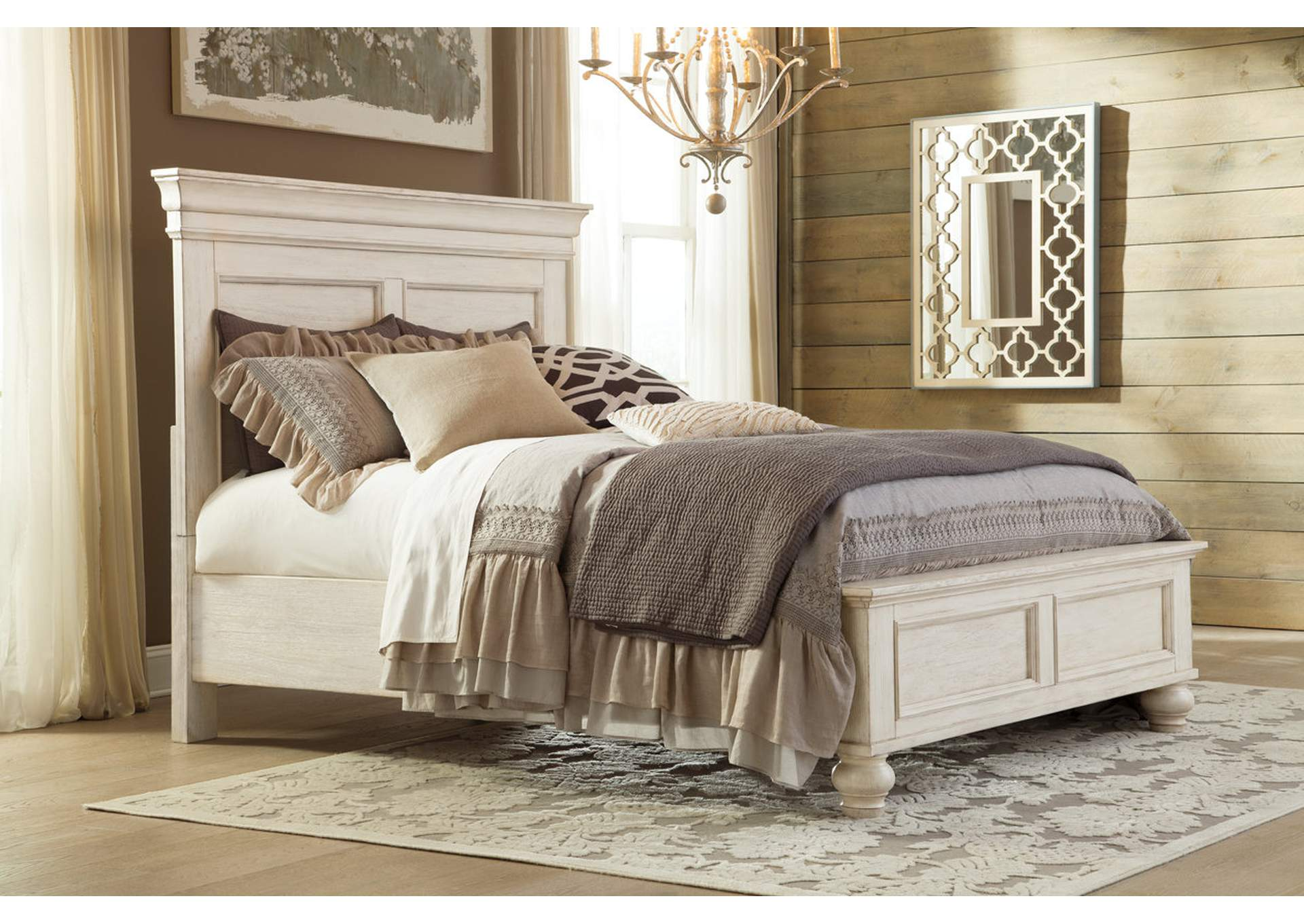 Marsilona King Panel Bed