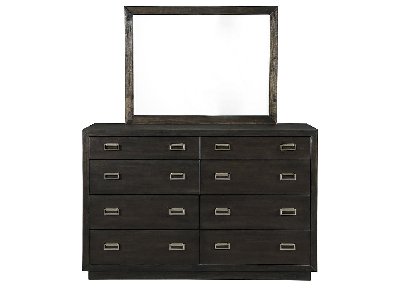 Hyndell Dresser and Mirror