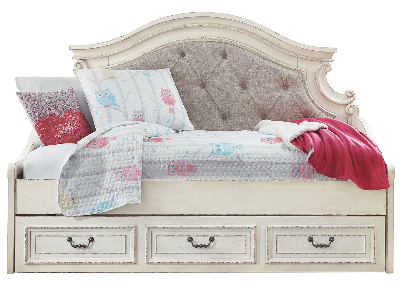 Realyn Twin Day Bed With Storage Ashley Furniture Homestore Independently Owned And Operated By Best Furn Appliances I