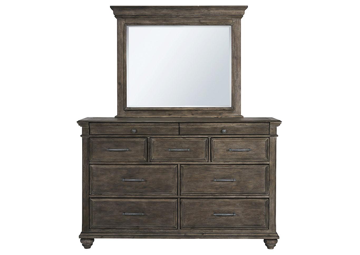Johnelle Dresser and Mirror