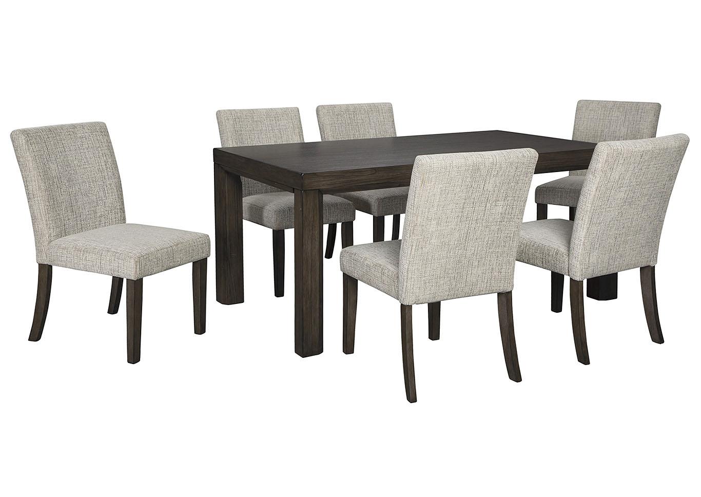 Mesa de comedor Deylin con 6 sillas