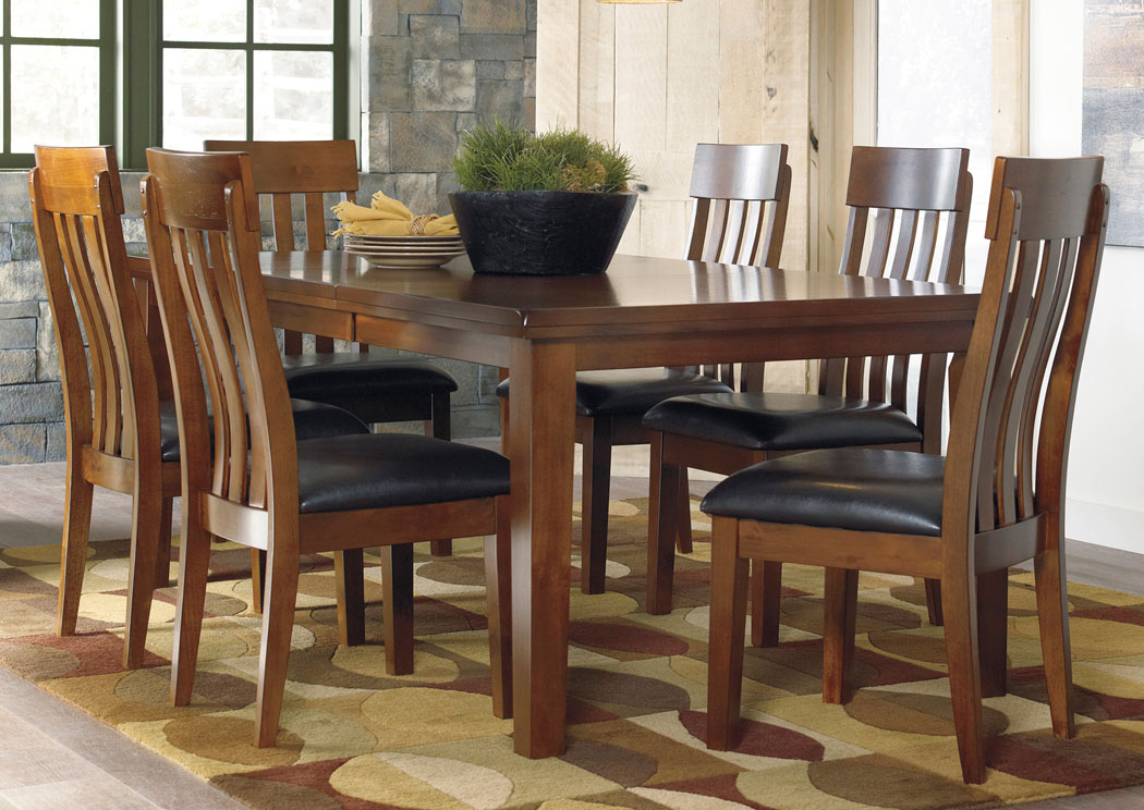 Ralene Dining Room Extension Table w/6 Chairs