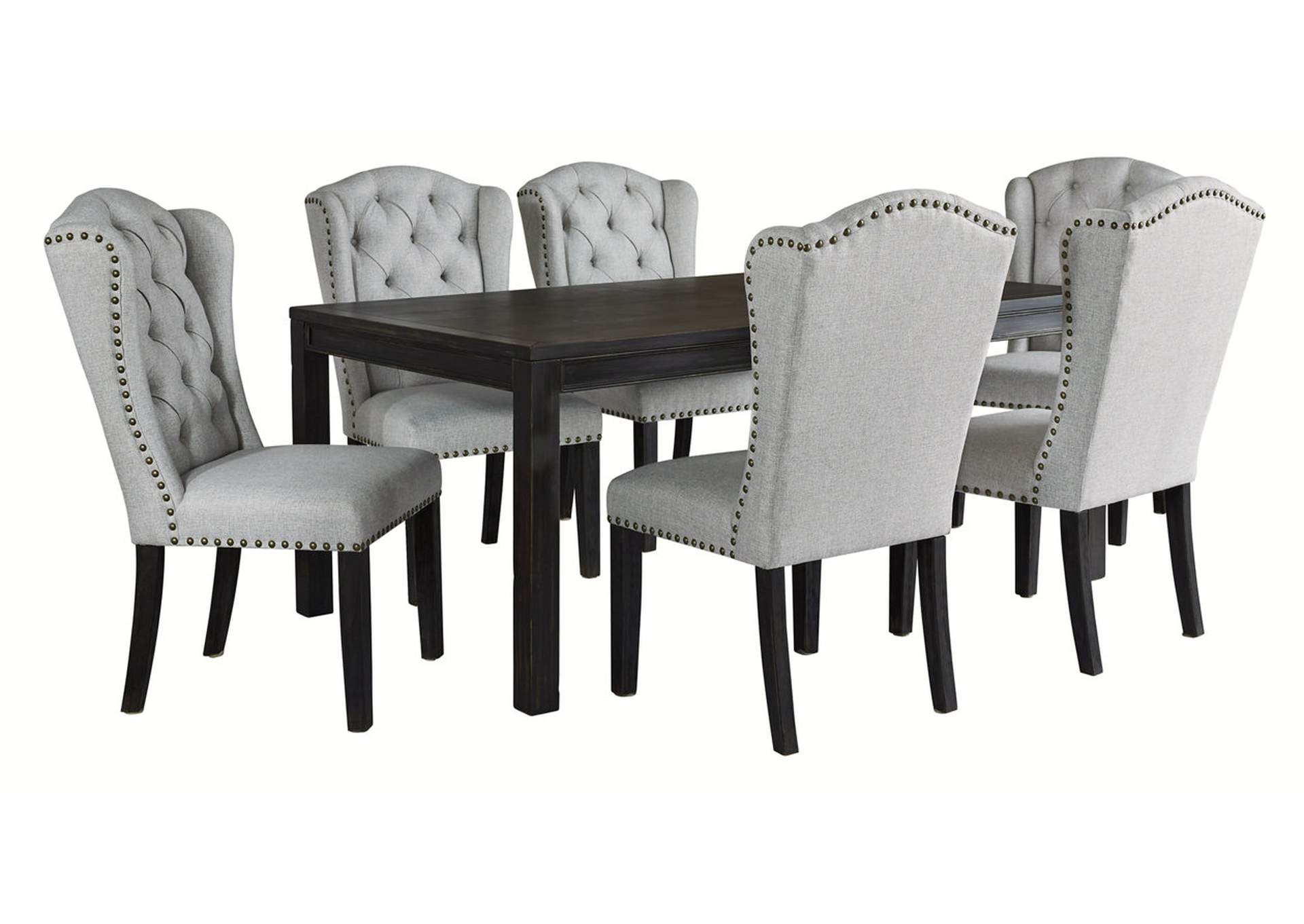 Jeanette 7 Piece Dining Table And Chairs Ashley Furniture Homestore Independently Owned And Operated By Best Furn Appliances I
