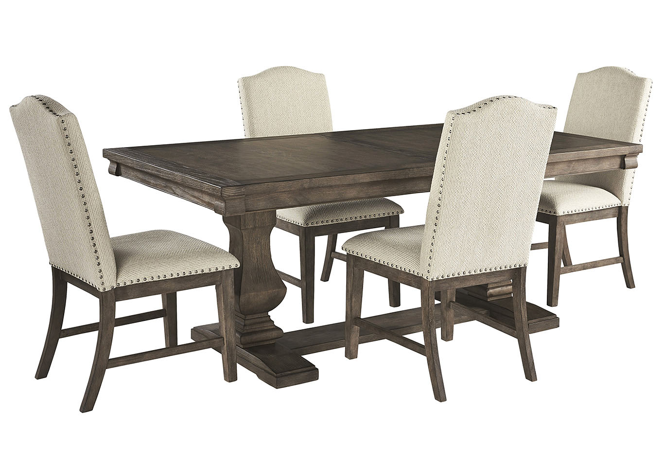 Johnelle Dining Table w/4 Side Chairs
