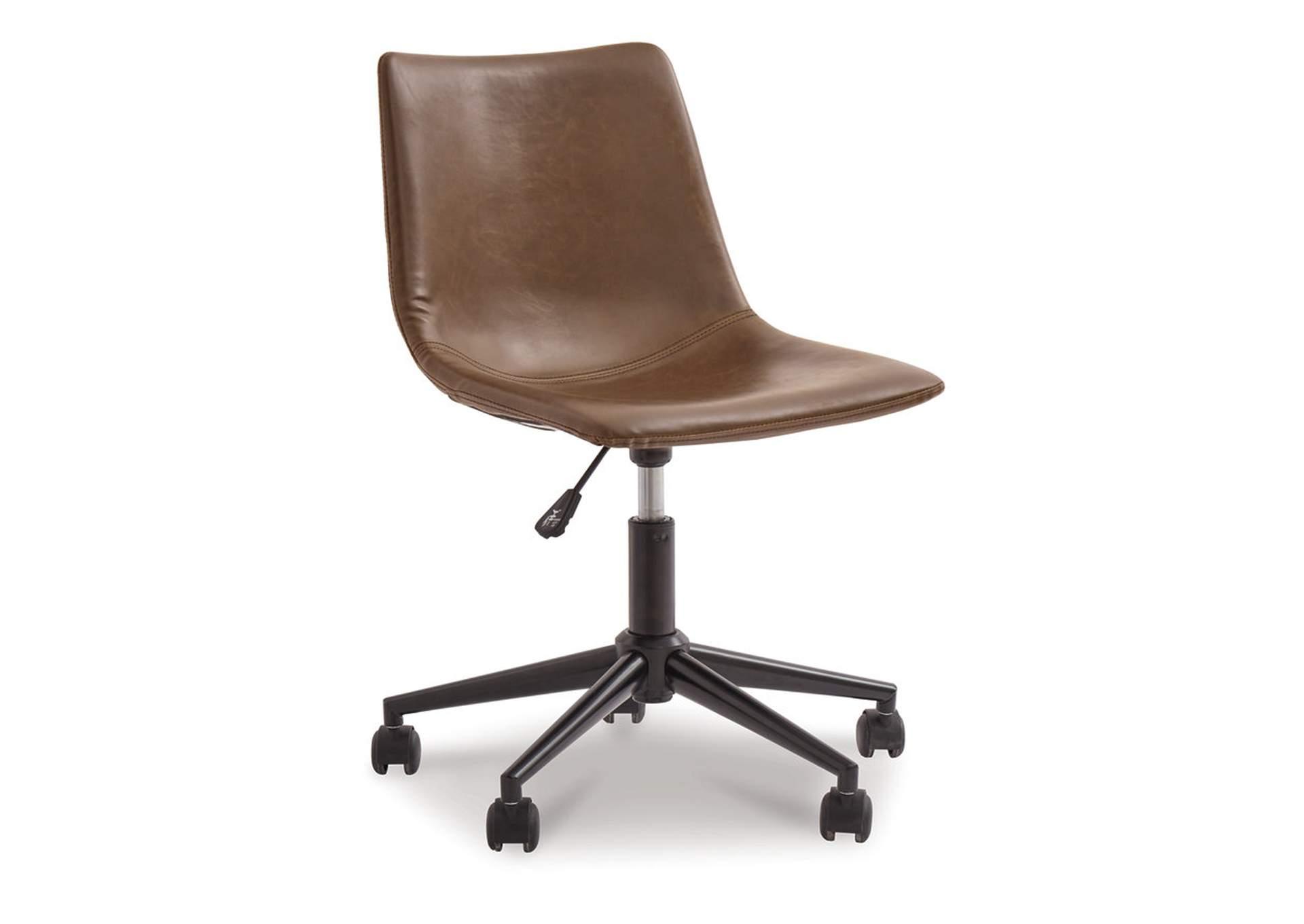 Silla de escritorio color marrón   PEDIDO ESPECIAL