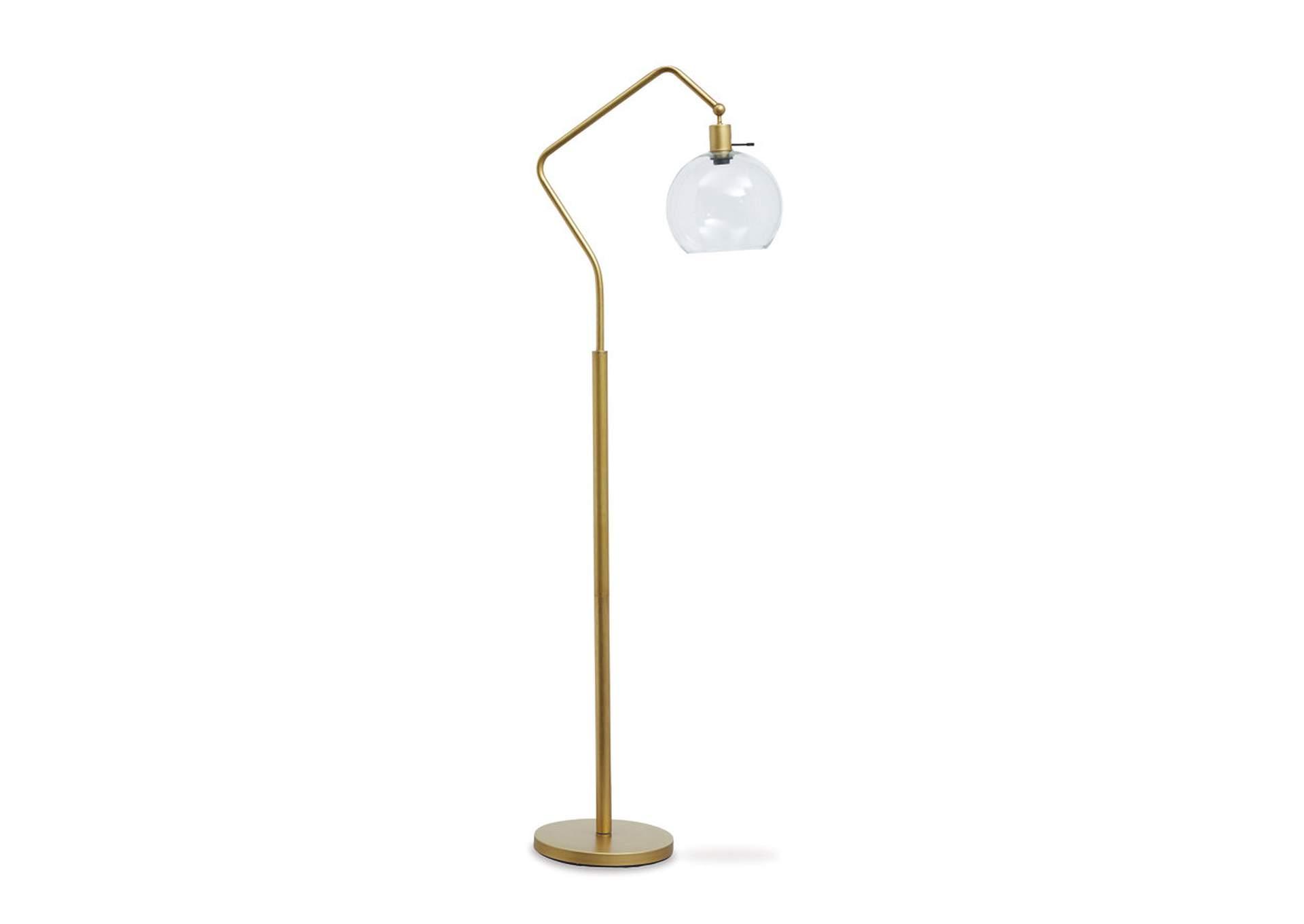 Lámpara Metálica De Pie Marilee
