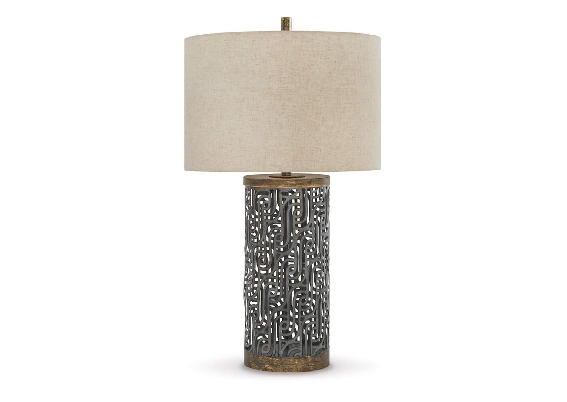 Lámpara Metálica de Mesa Dayo