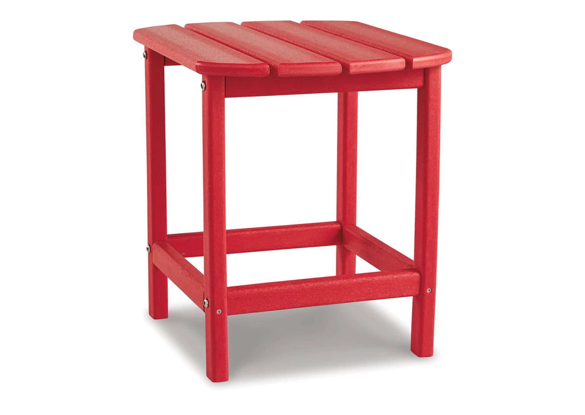 Sundown Treasure Red End Table