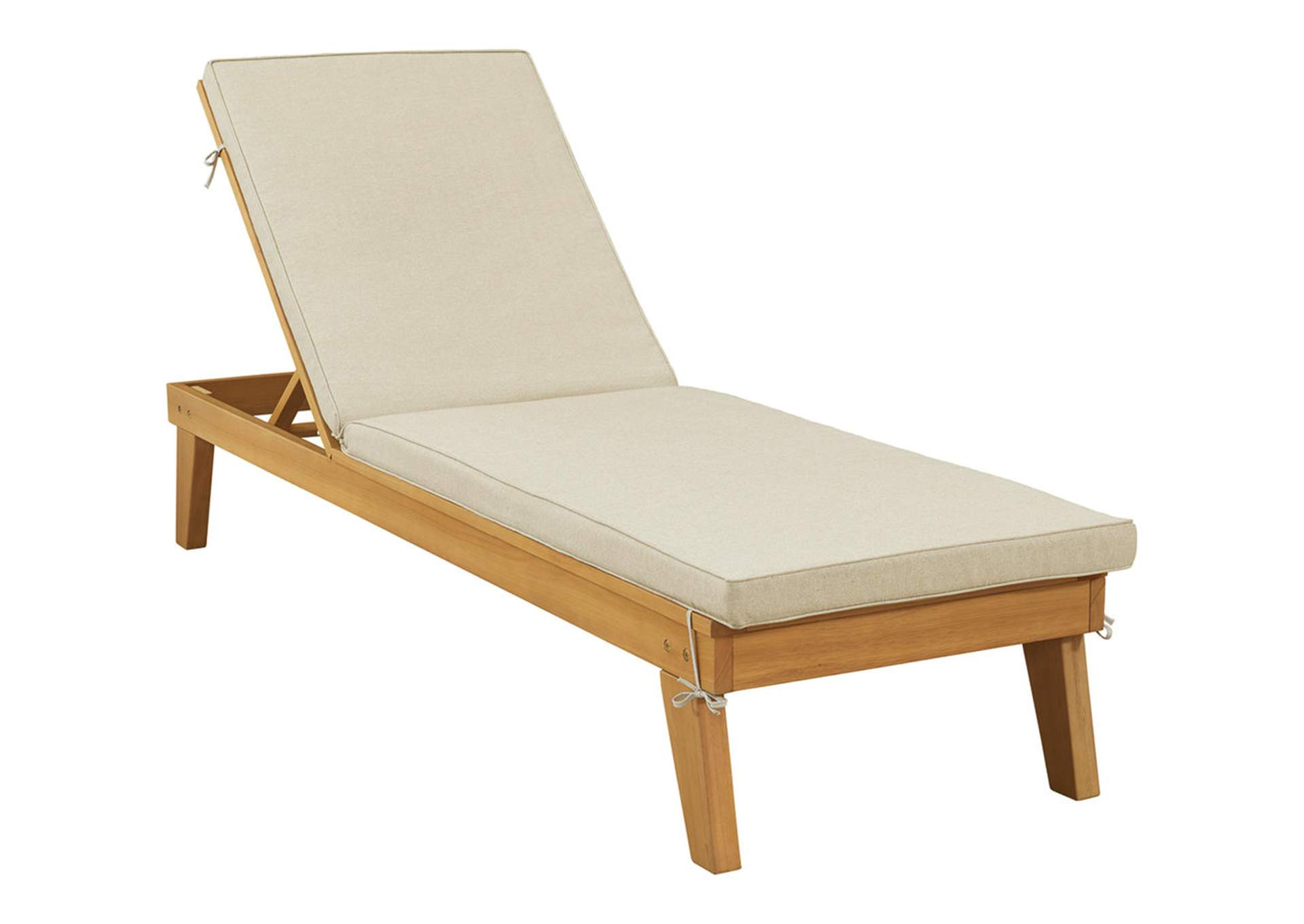 Byron Bay Chaise Lounge with Cushion