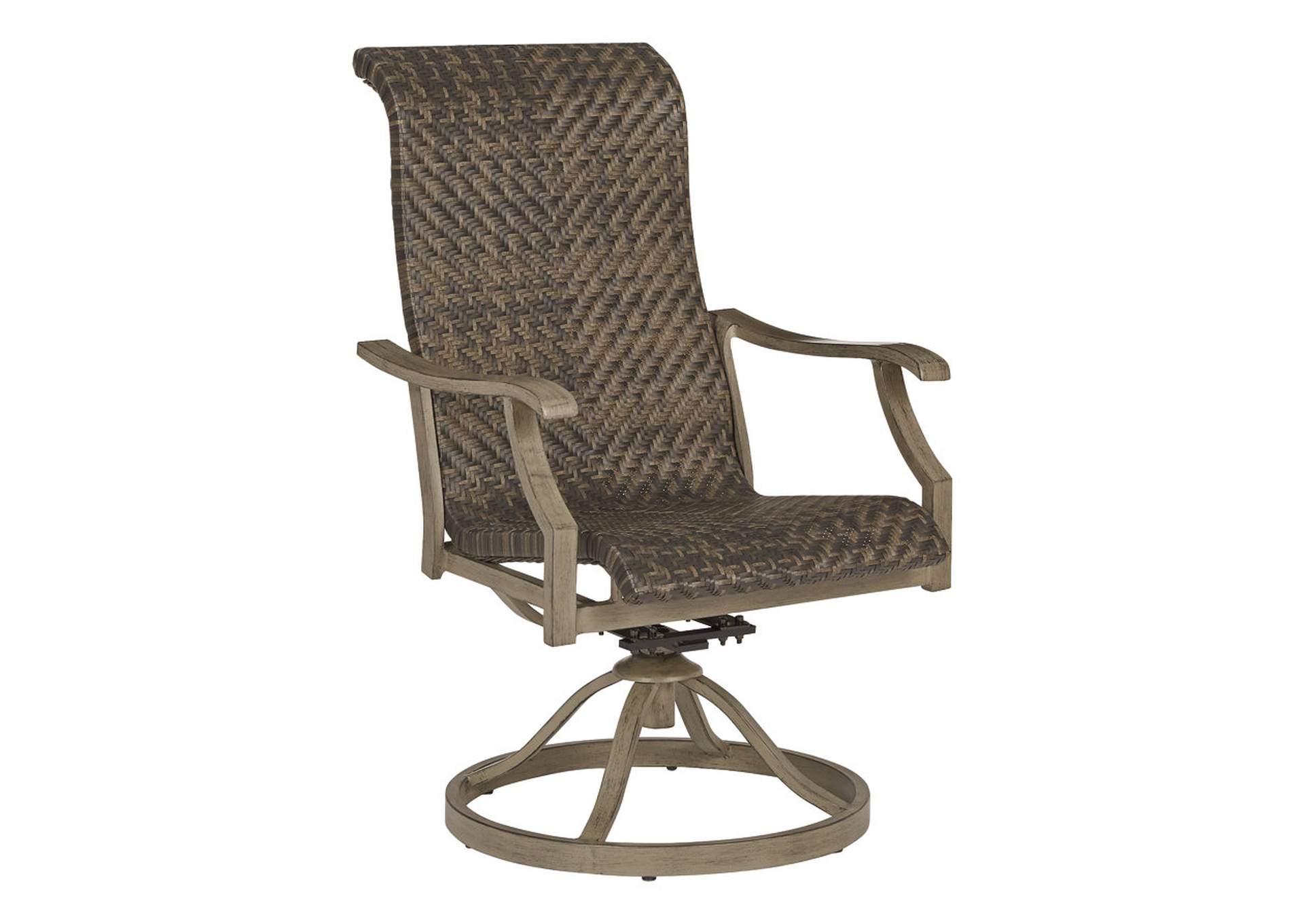 Windon Barn Вращающееся кресло коричневого цвета (2 шт. в комплекте)