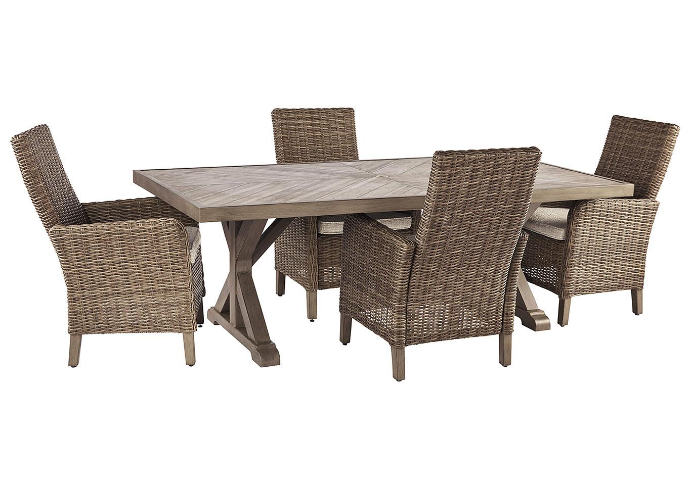 Beachcroft Обеденный стол и 4 кресла