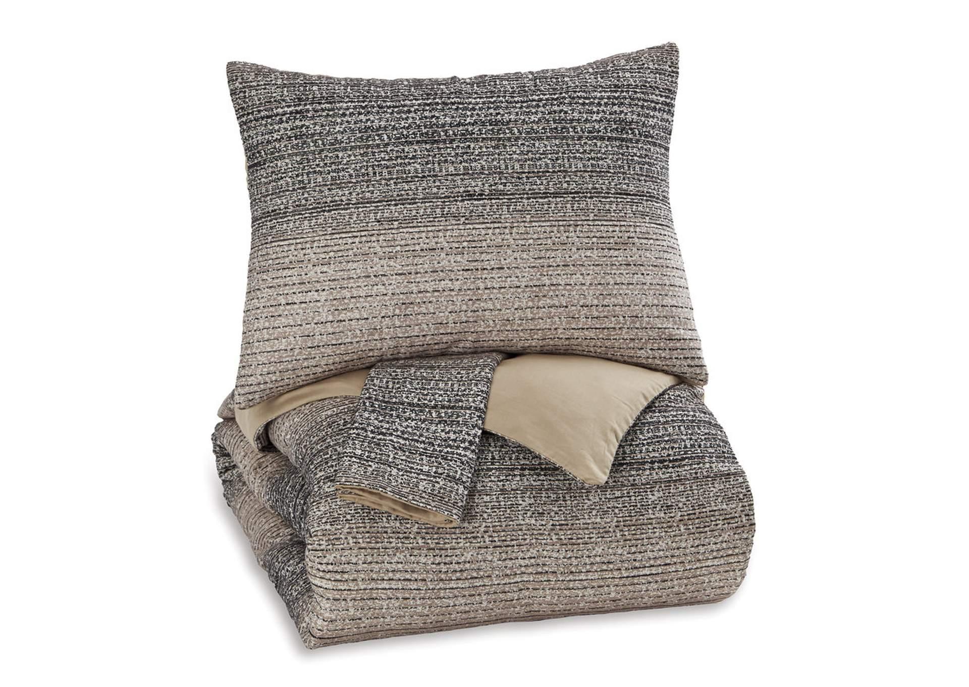Juego de cobertor de duvet Arturo en tamaño king (Set de 3)