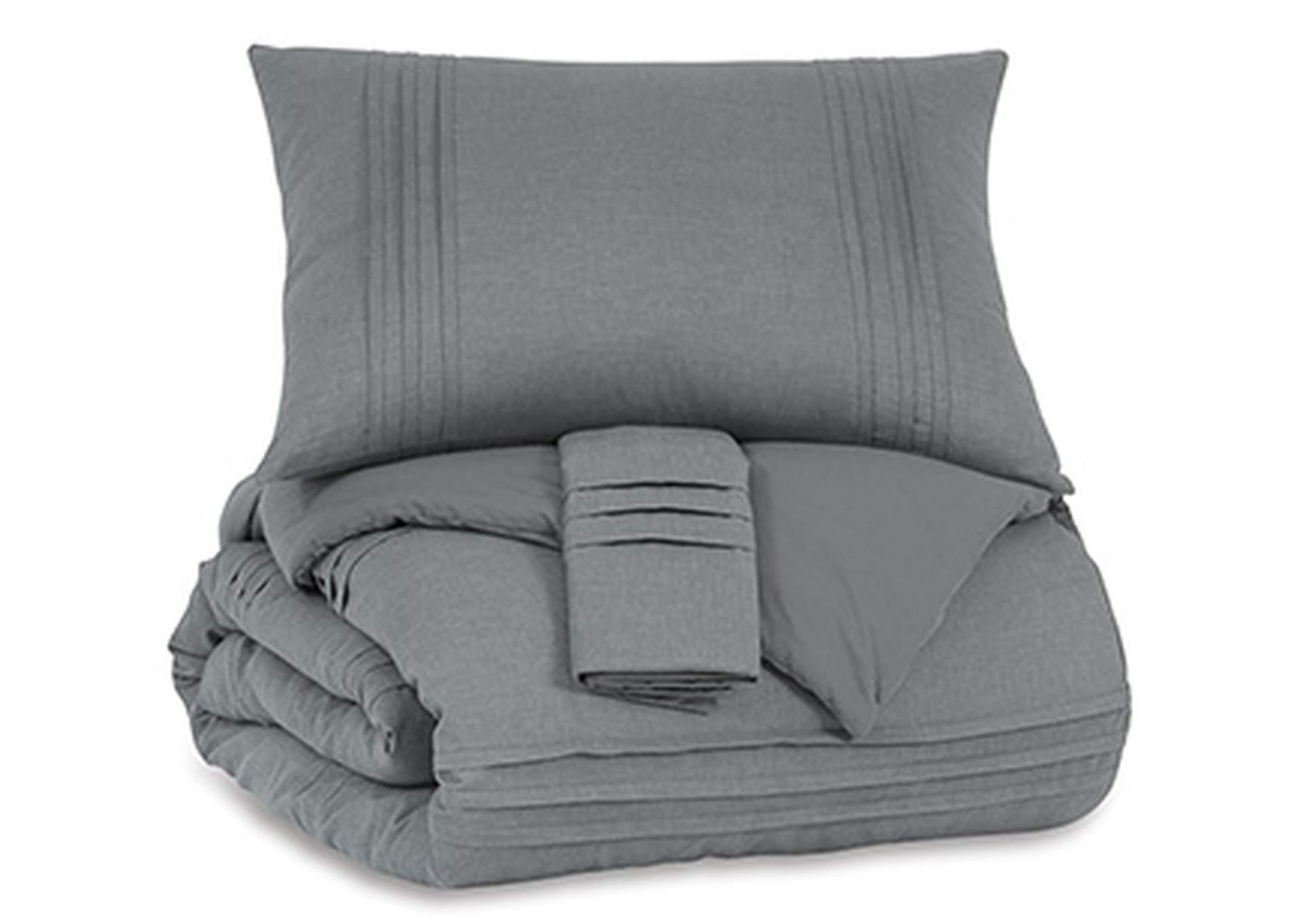 Mattias 3 Piece Queen Comforter Set