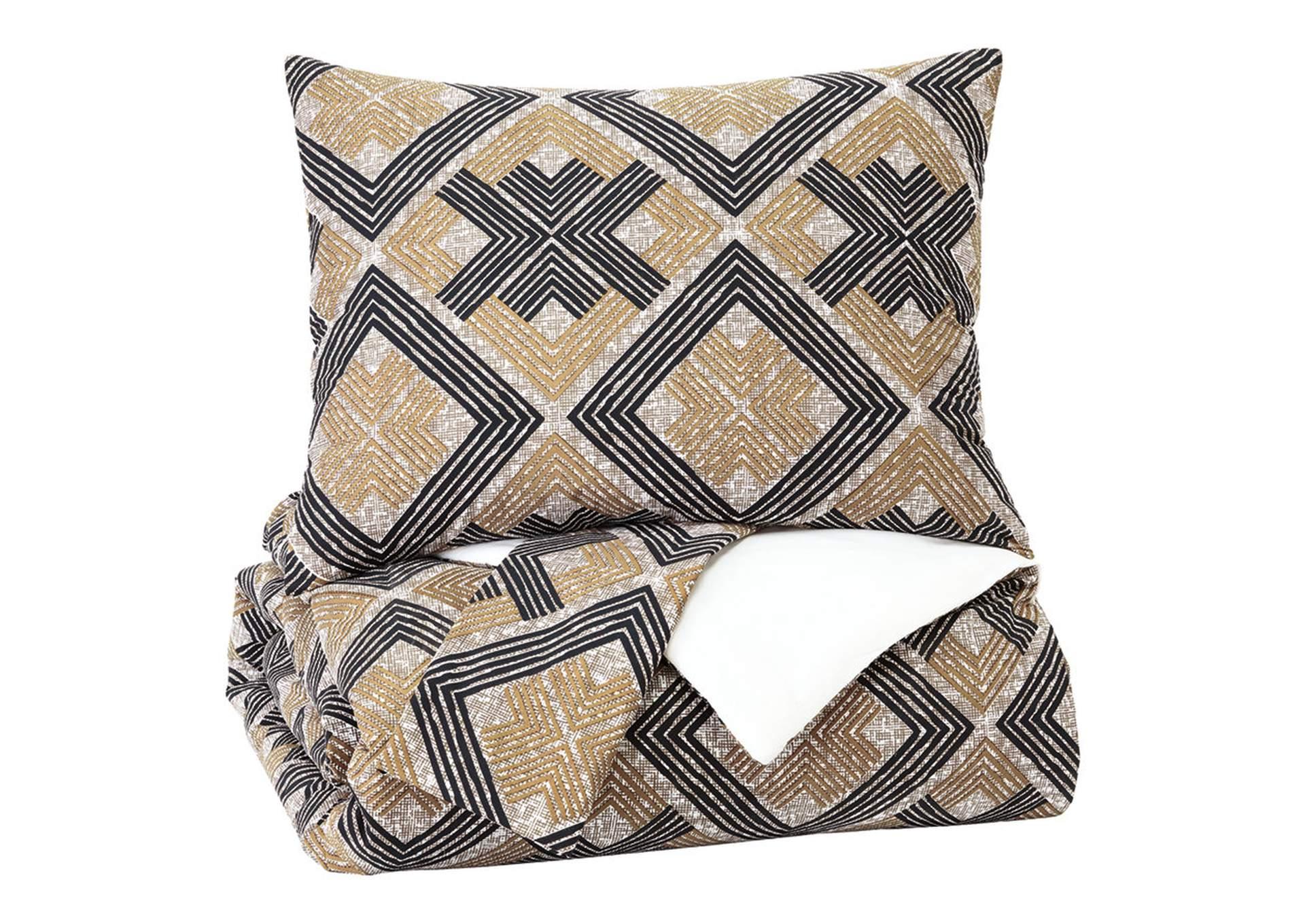 Scylla 3 Piece King Comforter Set