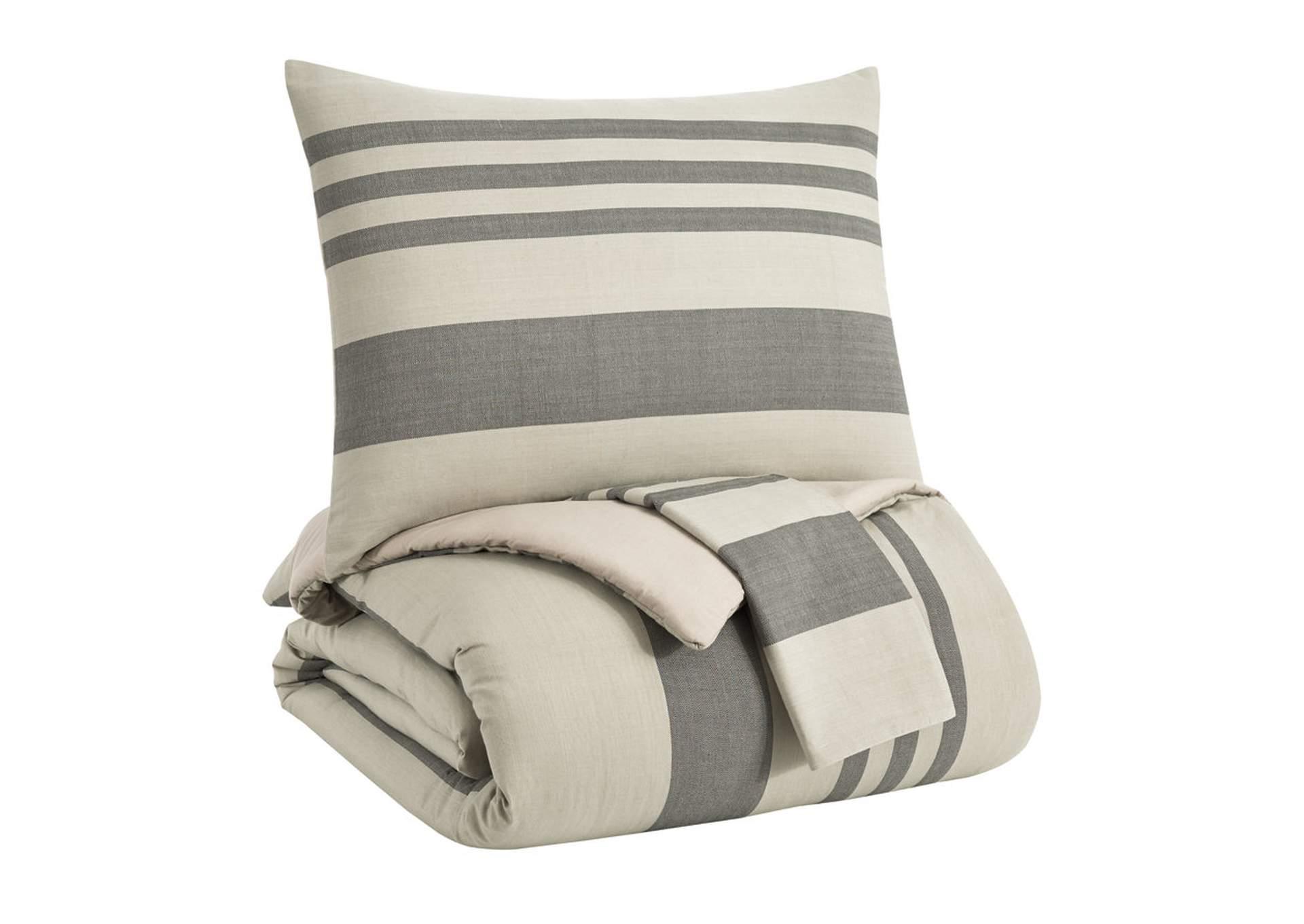 Schukei 3 Piece Queen Comforter Set