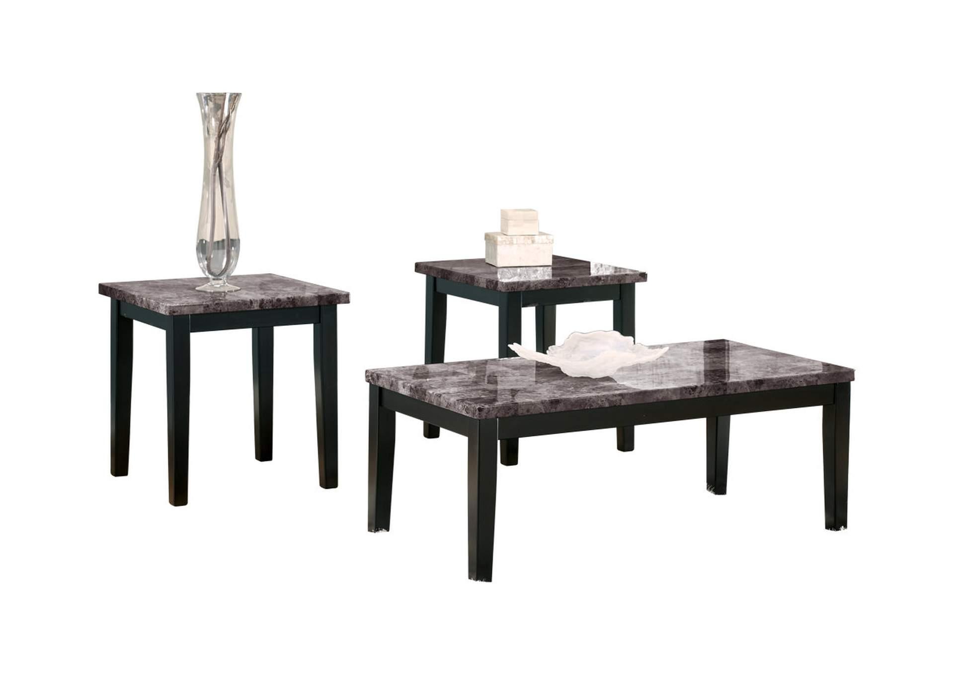 Juego/Set de mesas casual Maysville (1 centro y 2 laterales)