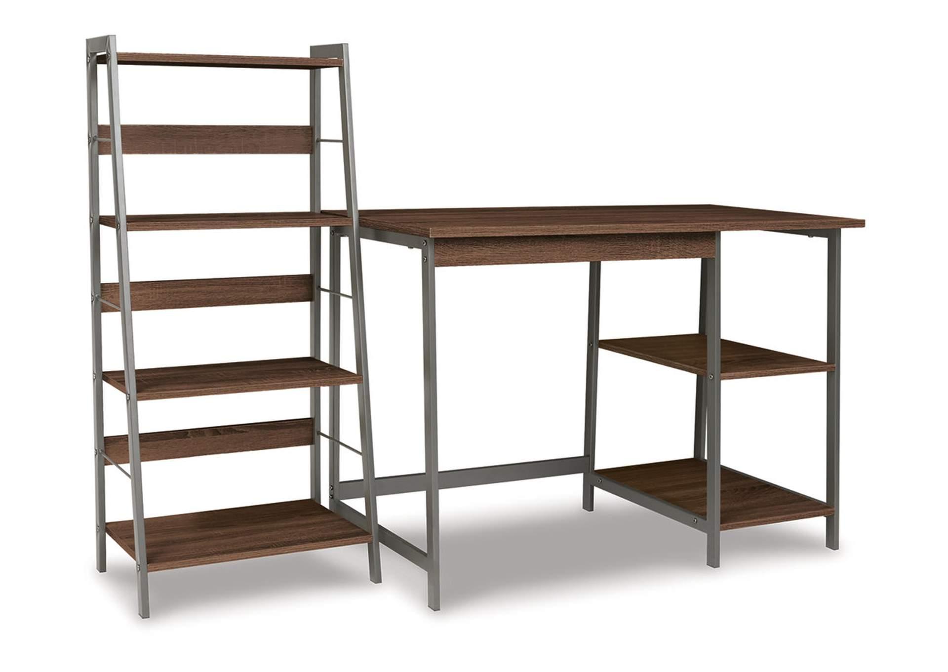 Soho Home Office Desk with Shelf